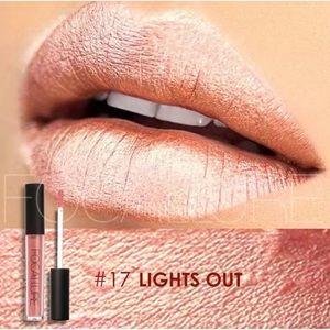 Metallic Liquid Lipstick Lights Out